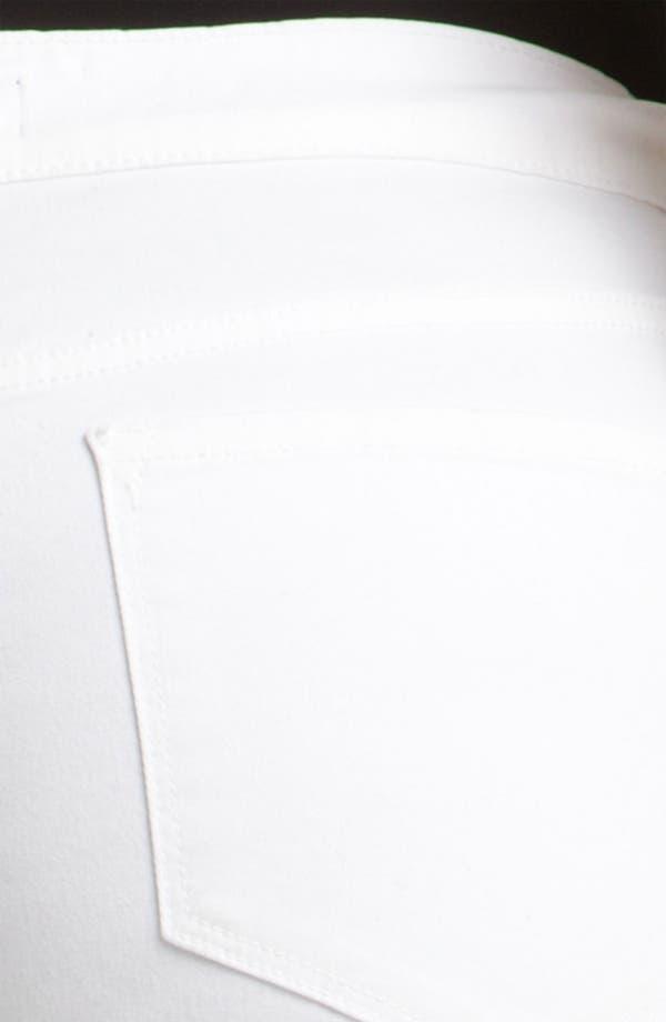 Alternate Image 3  - NYDJ 'Sammie' Crop Stretch Jeans (Plus Size)