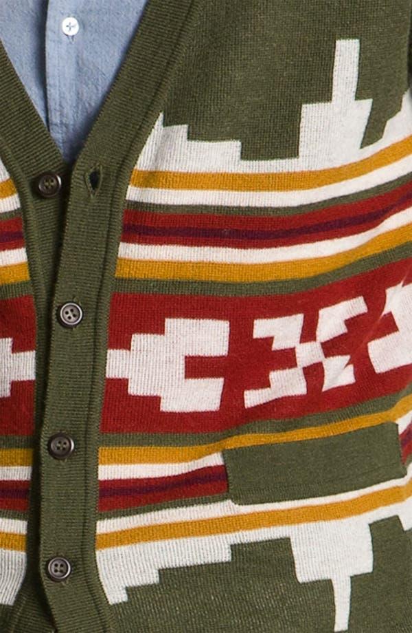 Alternate Image 3  - Pendleton Portland Collection 'Wallowa' Merino Wool Cardigan