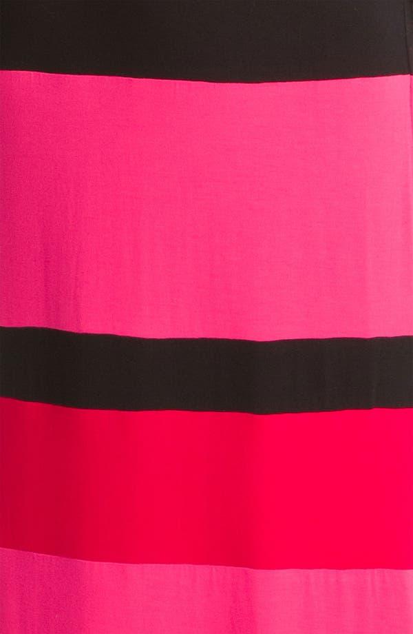 Alternate Image 3  - Current Affair Stripe V-Neck Maxi Dress