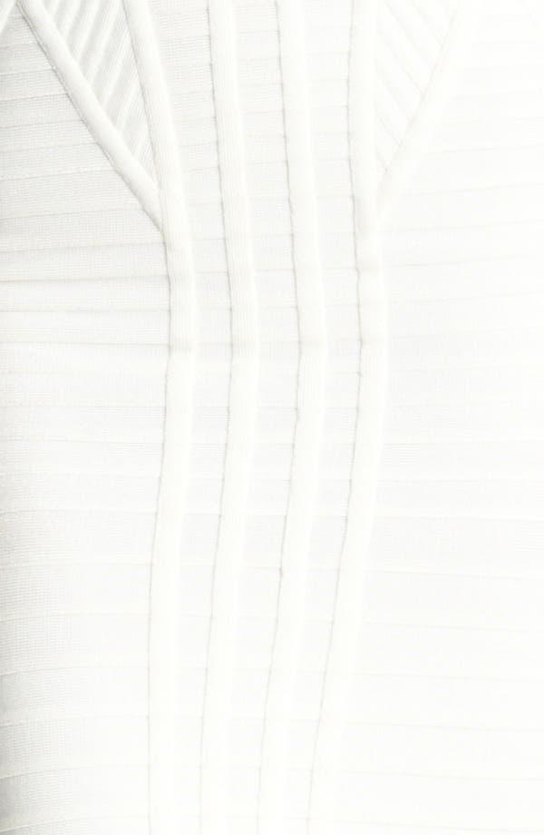 Alternate Image 3  - Herve Leger Hardware Detail Strapless Bandage Dress