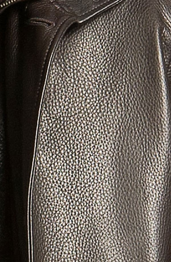 Alternate Image 3  - Remy Leather Calfskin Leather Jacket