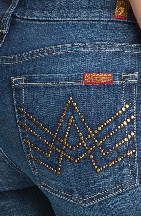 Alternate Image 3  - 7 For All Mankind® 'A-Pocket' Bootcut Stretch Jeans (Royal Mountain Valley)