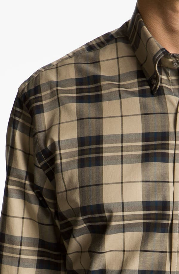 Alternate Image 3  - Cutter & Buck 'Malden' Plaid Sport Shirt (Online Only)