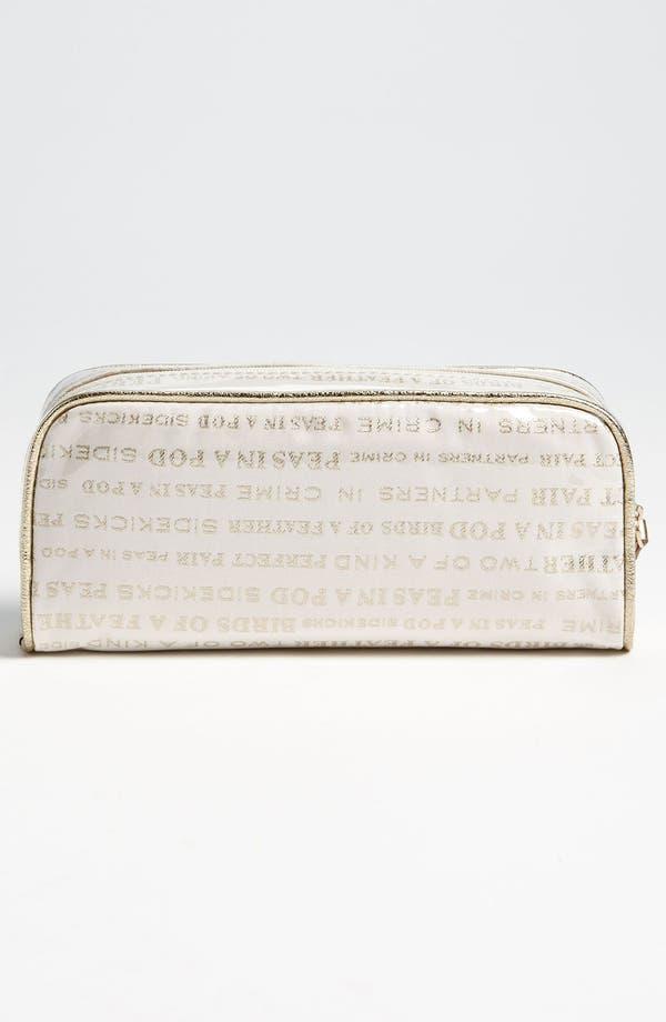 Alternate Image 4  - kate spade new york 'wedding bells - small henrietta' cosmetics case