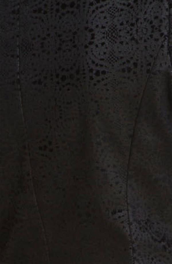 Alternate Image 3  - Alice + Olivia 'Elyse' Stretch Cotton Blazer