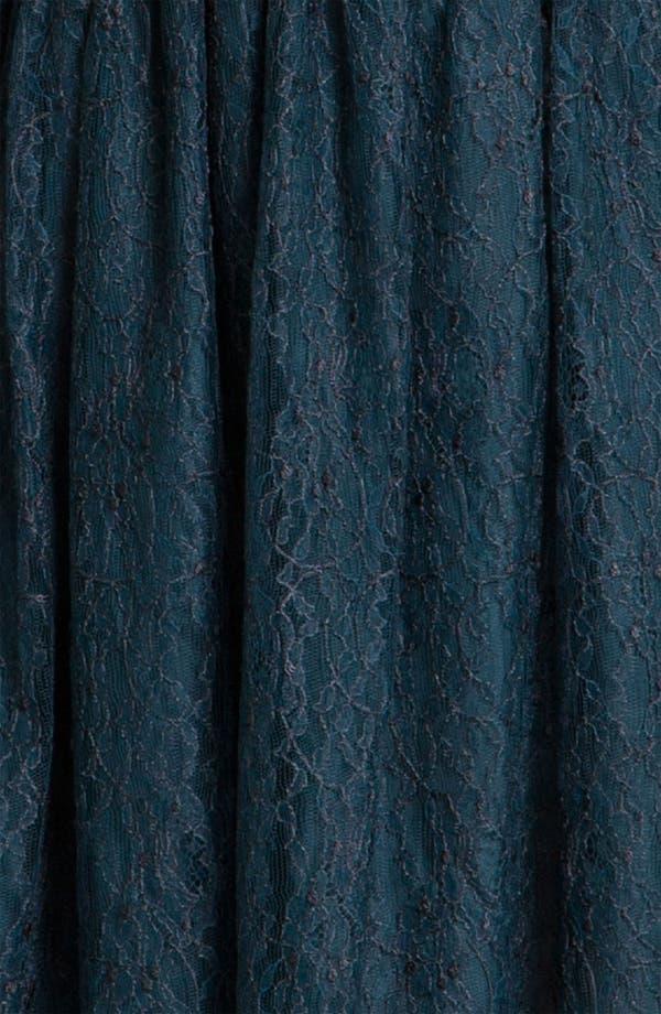 Alternate Image 3  - Shoshanna 'Risa' Cap Sleeve Chantilly Lace Dress