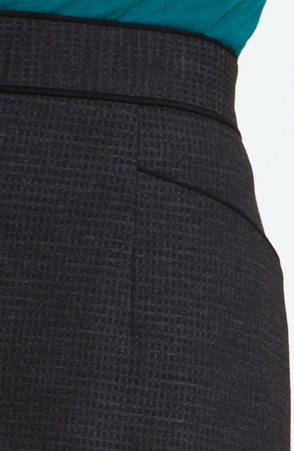 Alternate Image 3  - Classiques Entier® 'Glam Grid' Skirt