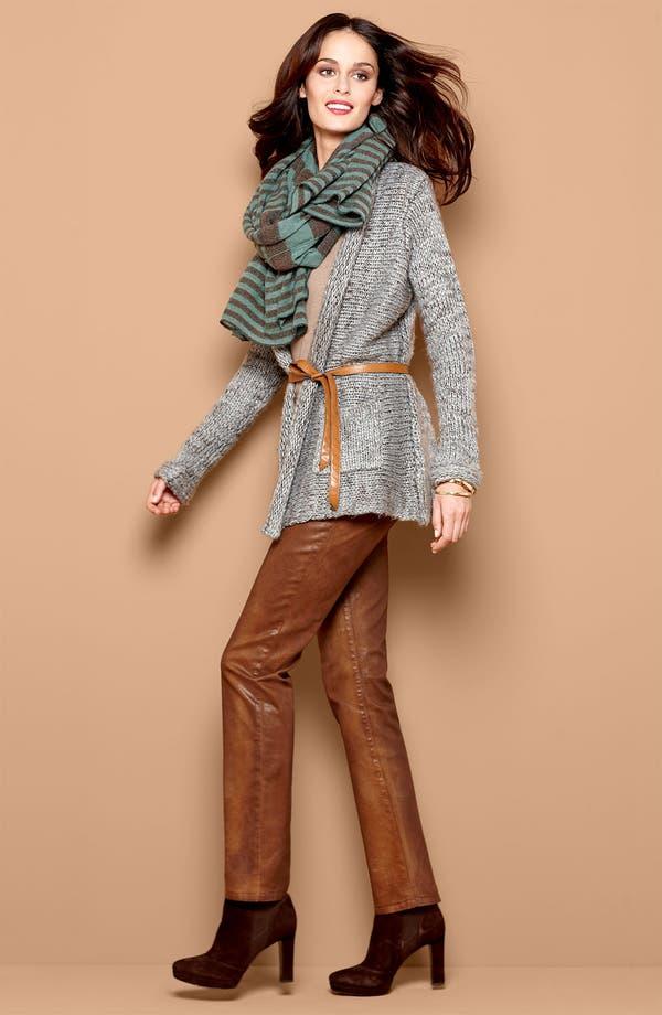 Alternate Image 4  - NYDJ 'Sheri' Coated Skinny Jeans