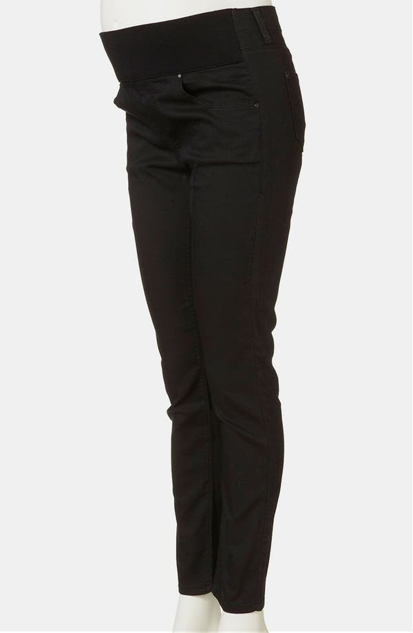 Alternate Image 2  - Topshop 'Leigh' Maternity Skinny Jeans