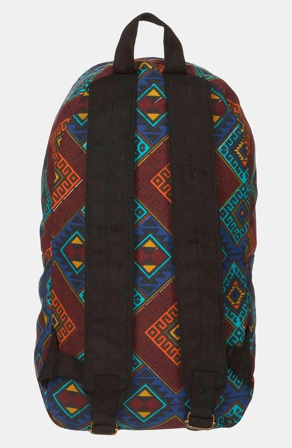 Alternate Image 2  - Topman Pattern Print Backpack
