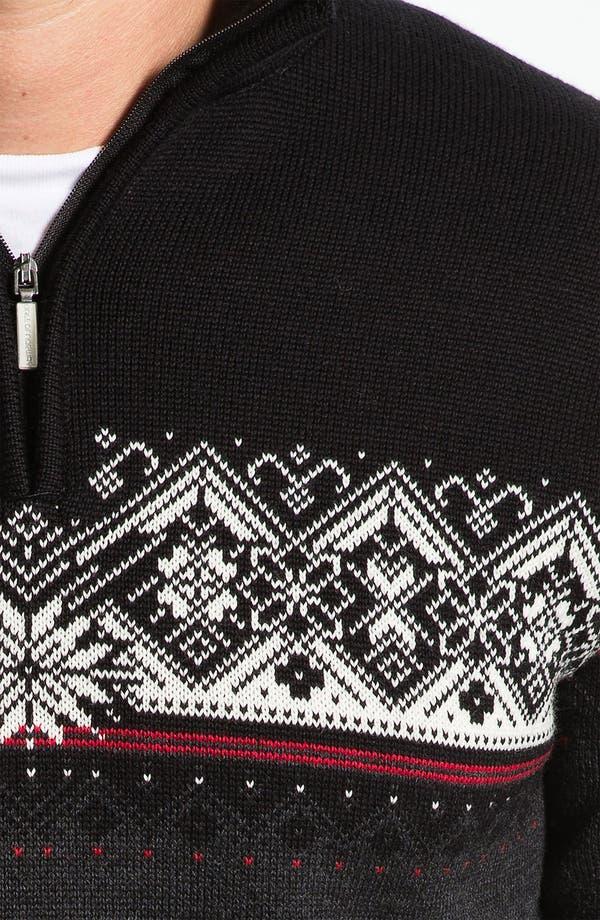 Alternate Image 3  - Dale of Norway 'St Moritz' Quarter Zip Merino Wool Sweater