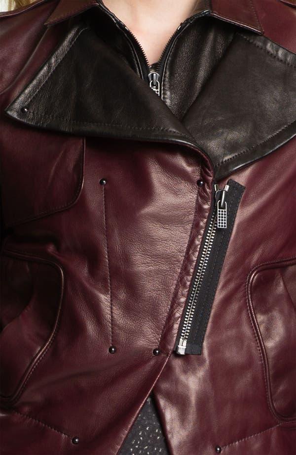 Alternate Image 3  - Kelly Wearstler 'Triton' Asymmetrical Leather Jacket