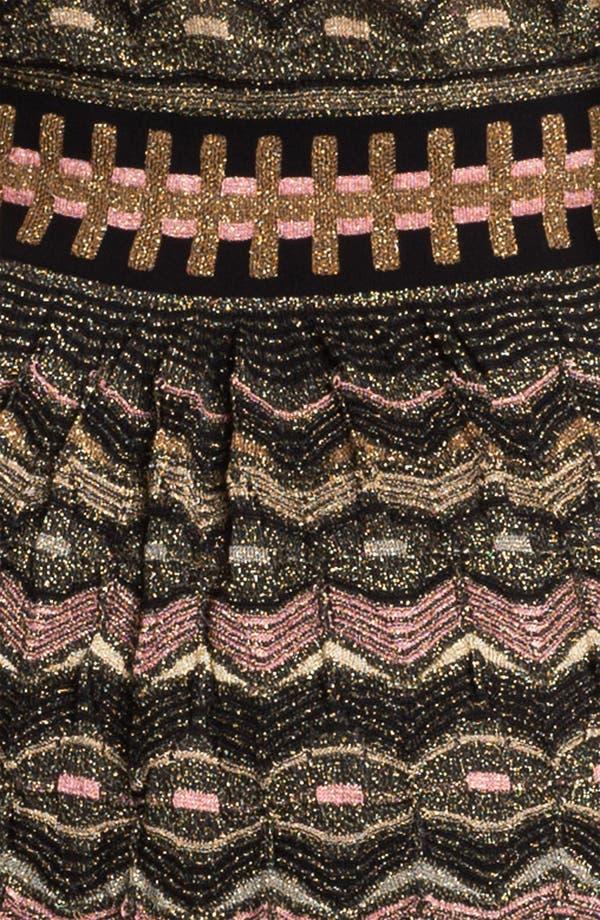 Alternate Image 3  - M Missoni Zigzag Metallic Knit Dress