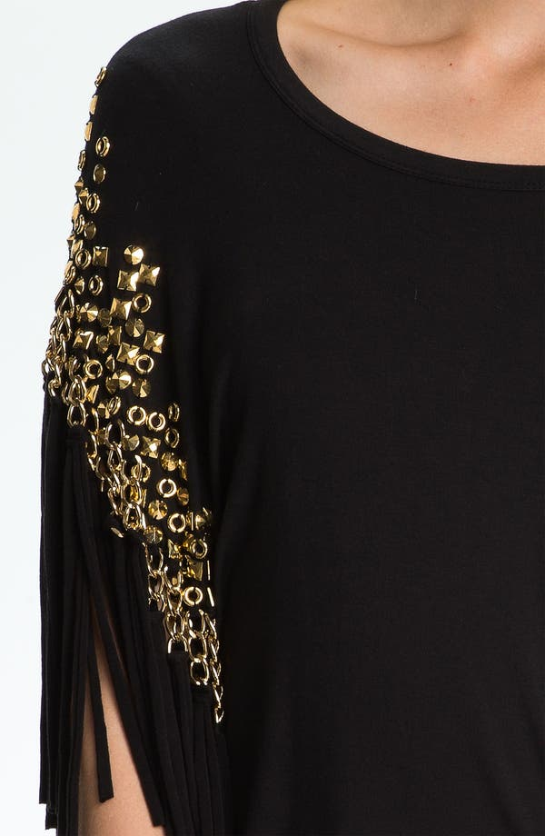 Alternate Image 3  - MICHAEL Michael Kors Embellished Fringe Top