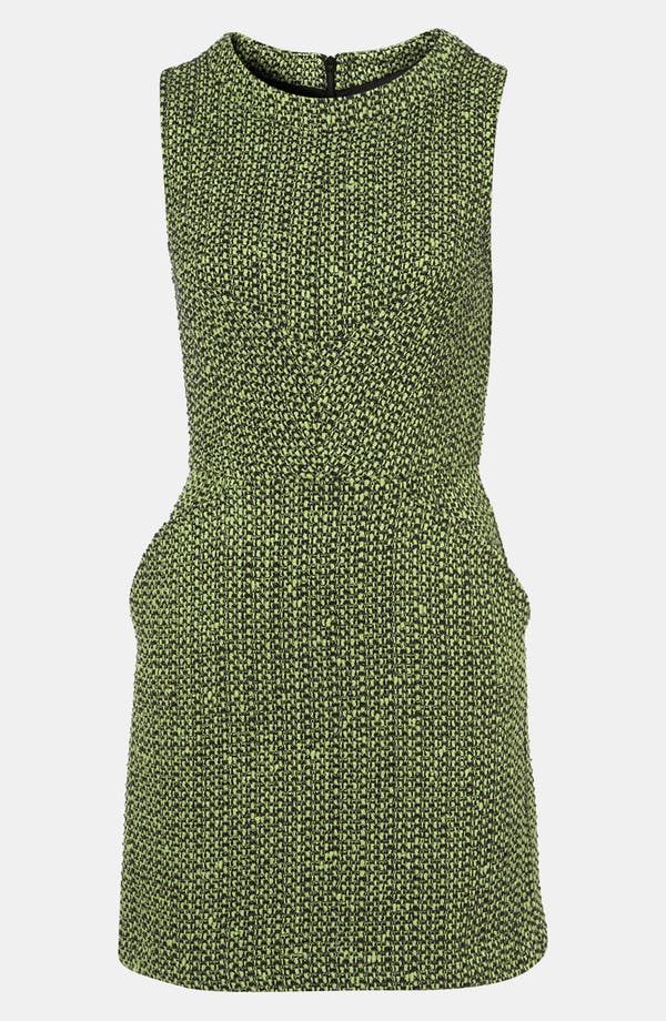 Alternate Image 1 Selected - Topshop Bouclé Dress