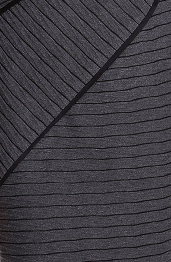 Alternate Image 3  - Adrianna Papell Asymmetrical Seam Stripe Dress