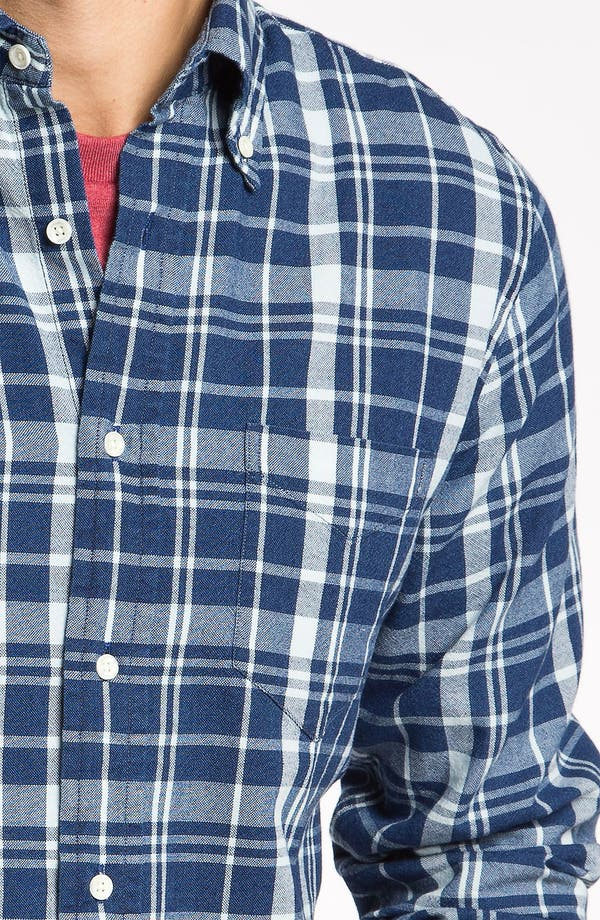Alternate Image 3  - Gant Rugger 'The Hugger' Check Woven Shirt
