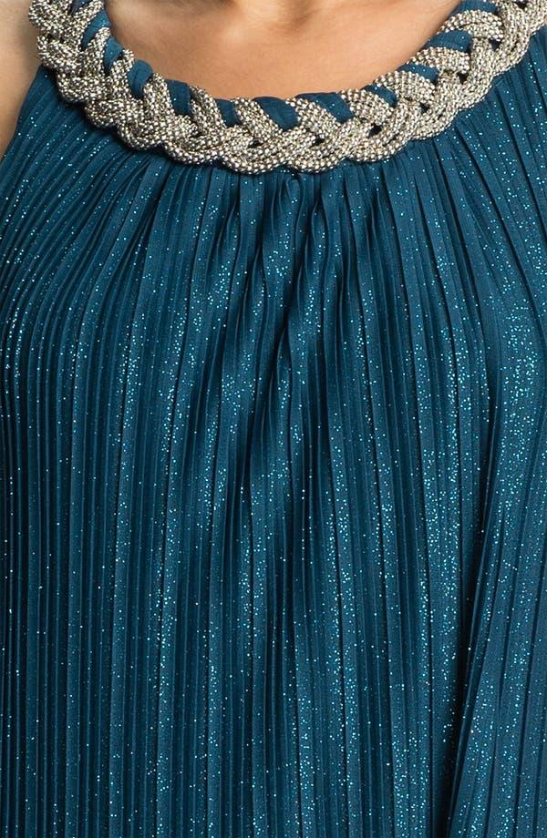 Alternate Image 3  - Donna Ricco Braided Collar Shift Dress