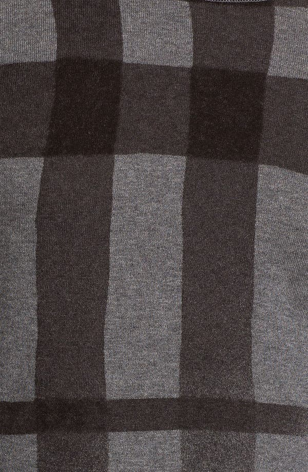 Alternate Image 3  - Burberry Brit Check Sweater
