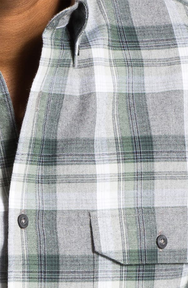 Alternate Image 3  - Nordstrom Regular Fit Cotton Flannel Shirt