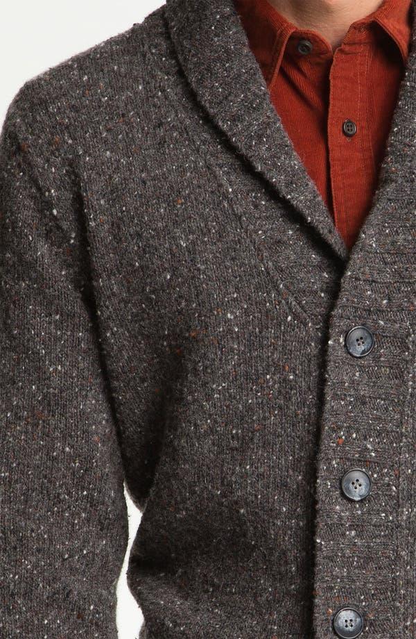 Alternate Image 3  - Fiesole Shawl Collar Wool Blend Cardigan