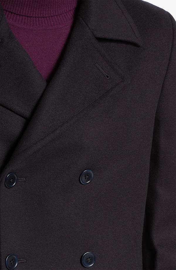 Alternate Image 3  - John Varvatos Star USA Double Breasted Peacoat