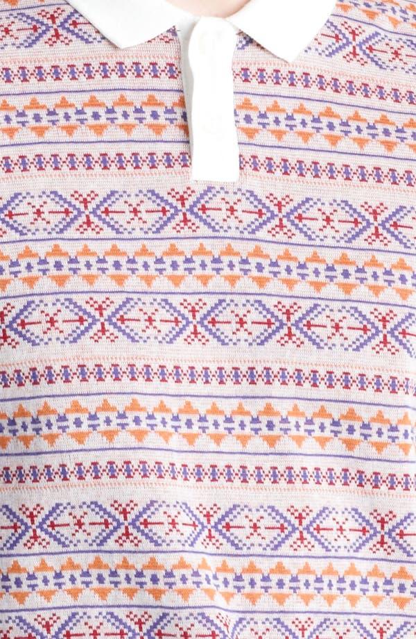 Alternate Image 3  - Topman Jacquard Polo Shirt