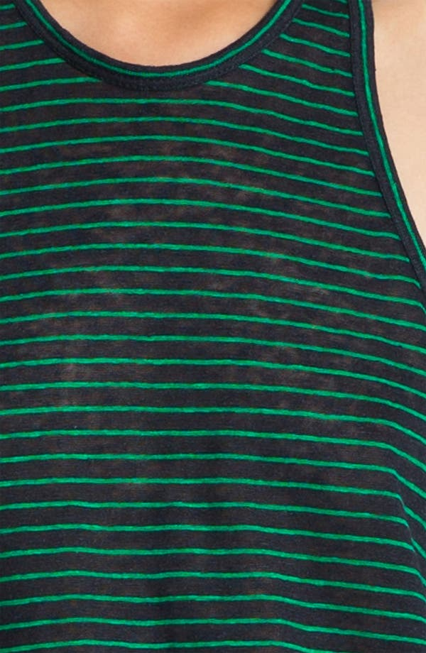Alternate Image 3  - T by Alexander Wang Stripe Linen Tank