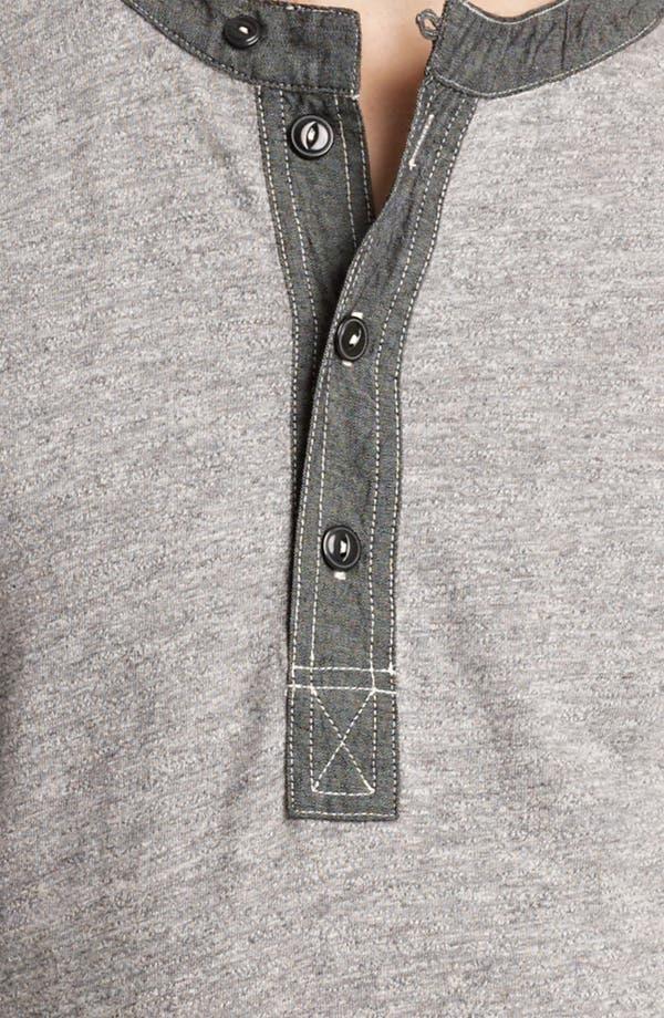 Alternate Image 3  - Grayers Trim Fit Henley T-Shirt