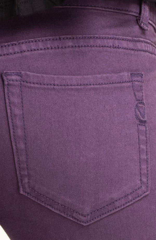 Alternate Image 3  - Vigoss Color Skinny Jeans (Juniors)