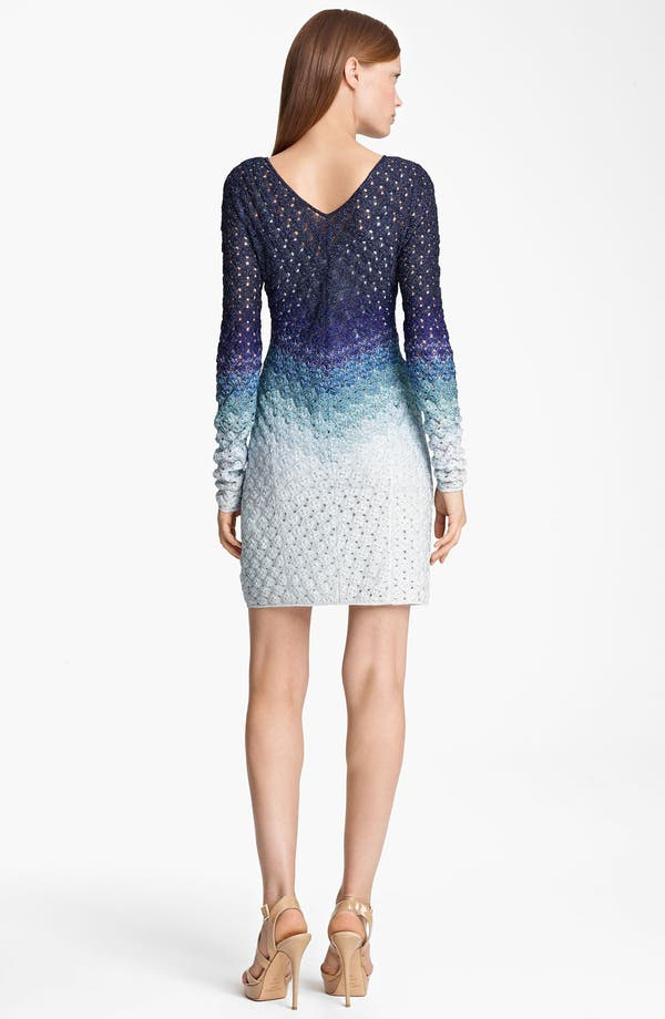 Alternate Image 2  - Missoni Long Sleeve Dégradé Dress
