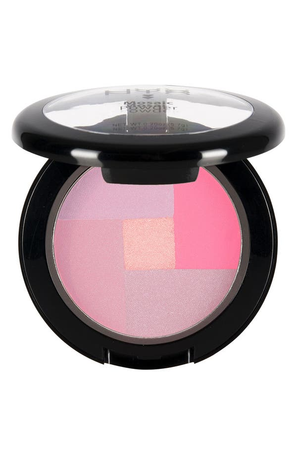 Alternate Image 1 Selected - NYX Mosaic Powder Blush