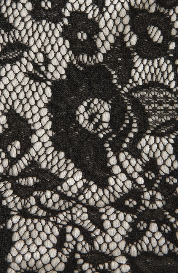 Alternate Image 3  - Topshop Lace Peplum Top (Petite)
