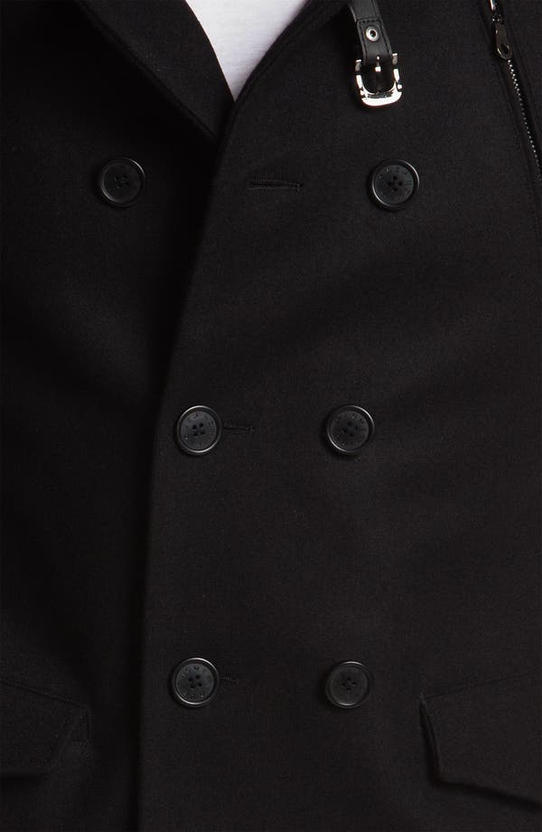 Alternate Image 3  - Howe 'Rose Royce' Double Breasted Peacoat