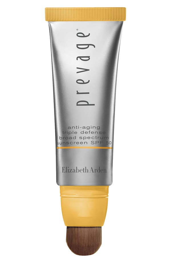 PREVAGE<sup>®</sup> Triple Defense Shield SPF 50 Sunscreen PA +++,                             Main thumbnail 1, color,                             No Color
