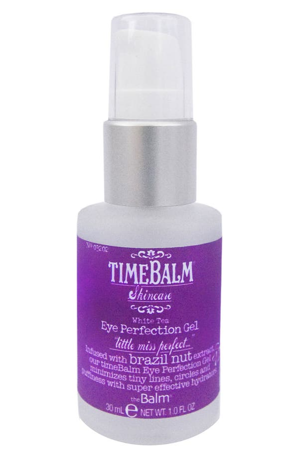 Alternate Image 1 Selected - theBalm® 'TimeBalm® Brazil Nut' Eye Perfection Gel