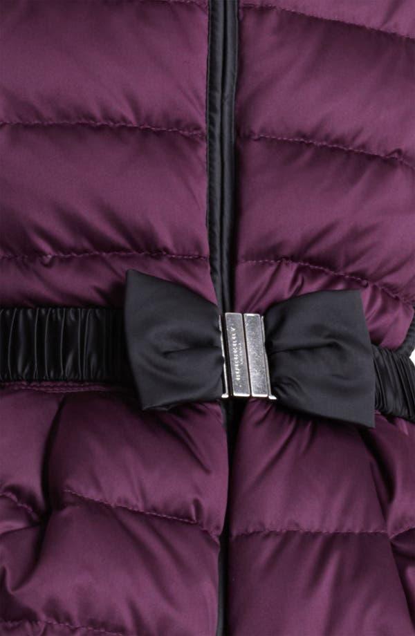 Alternate Image 3  - Burberry London Bow Belt Puffer Jacket