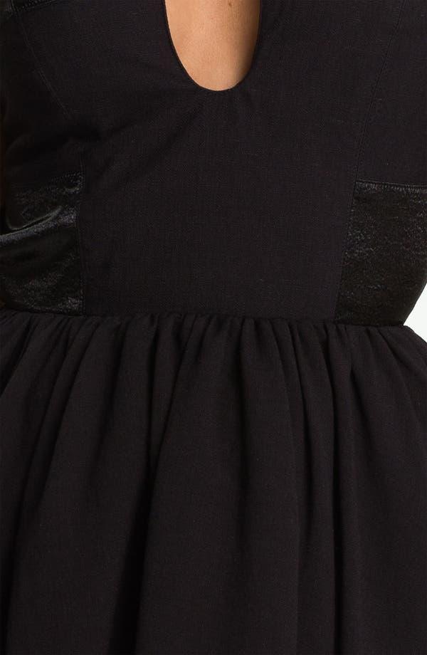Alternate Image 3  - Keepsake the Label 'Smoke & Mirrors' Back Cutout Fit & Flare Dress