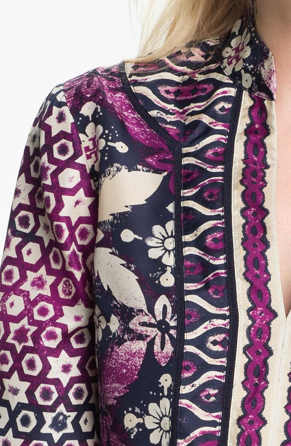 Alternate Image 3  - Tory Burch 'Daria' Silk Tunic