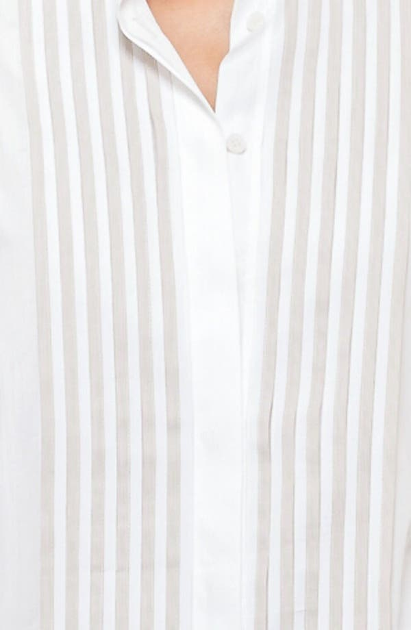 Alternate Image 3  - Akris punto Pleat Detail Blouse
