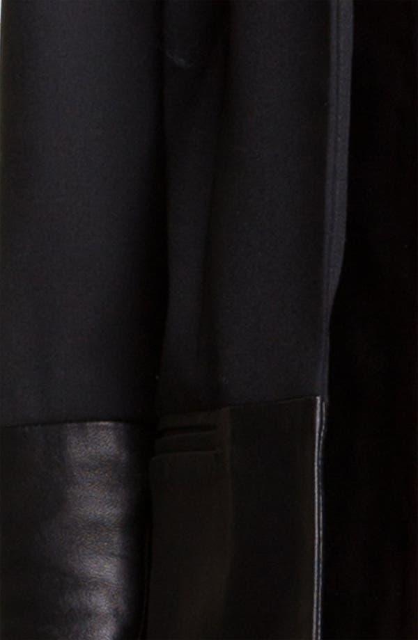 Alternate Image 3  - Parker Leather Sleeve Jacket