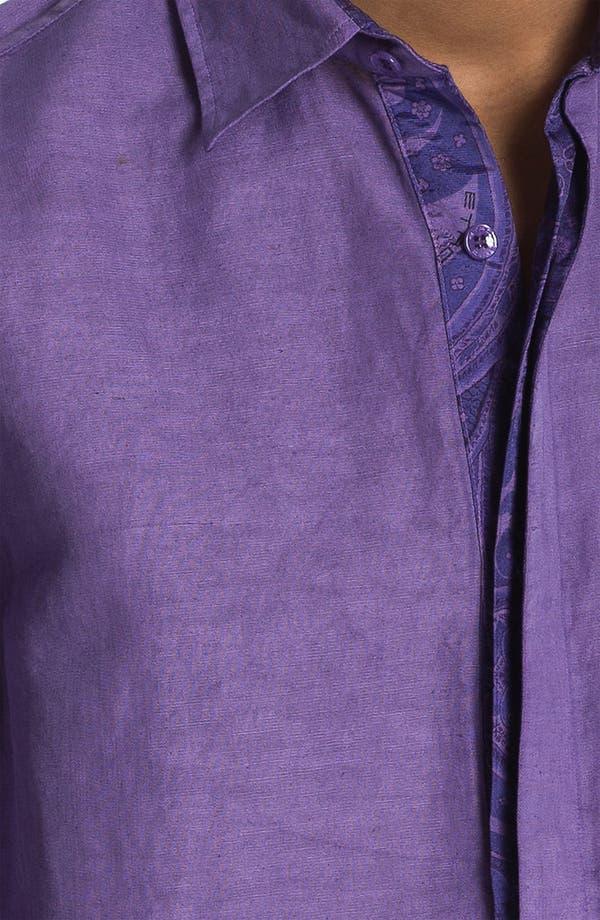 Alternate Image 3  - Etro 'Camicia' Cotton & Linen Shirt