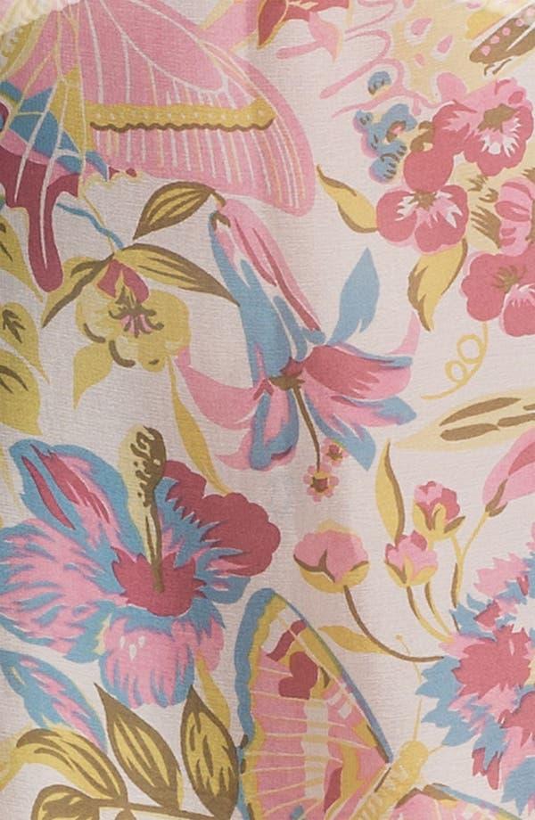 Alternate Image 2  - Nordstrom Floral Silk Caftan