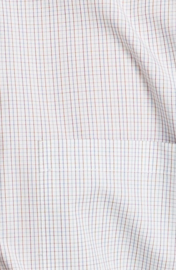 Alternate Image 3  - Topman 'Georgio' Grid Check Woven Shirt