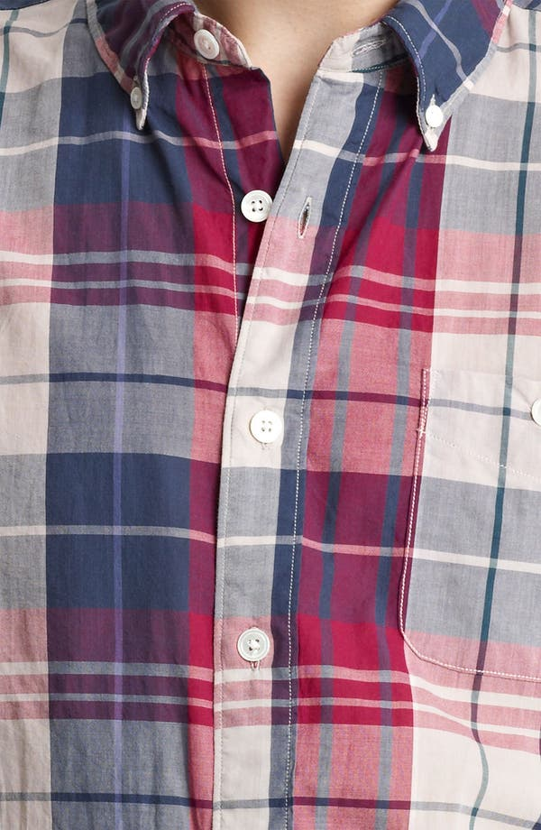 Alternate Image 3  - Todd Snyder Plaid Woven Shirt