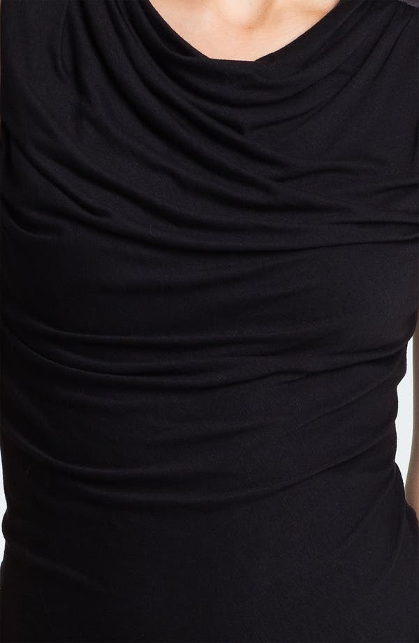 Alternate Image 3  - DKNYC Draped Jersey Dress