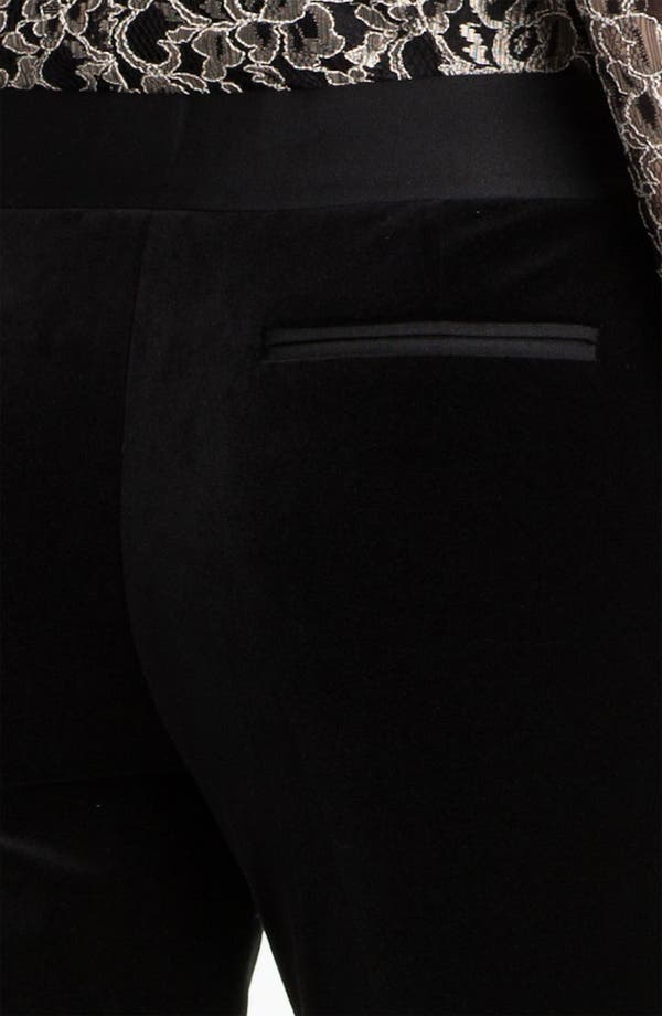 Alternate Image 3  - Ted Baker London Tapered Leg Velvet Trousers