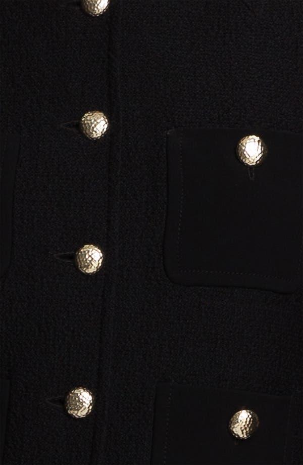 Alternate Image 5  - St. John Collection Bouclé Knit Jacket