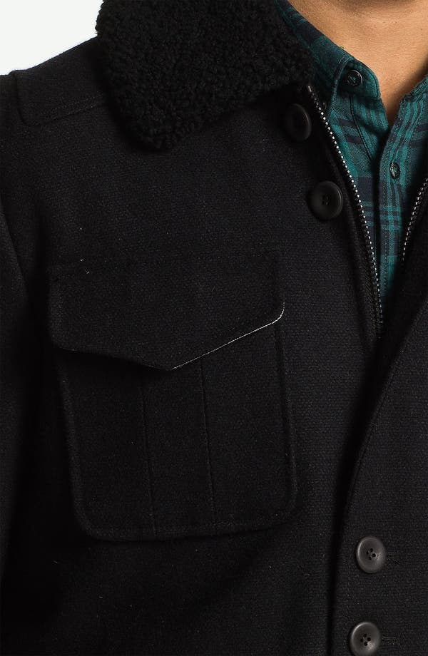 Alternate Image 3  - PLECTRUM by Ben Sherman Shearling Collar Field Jacket