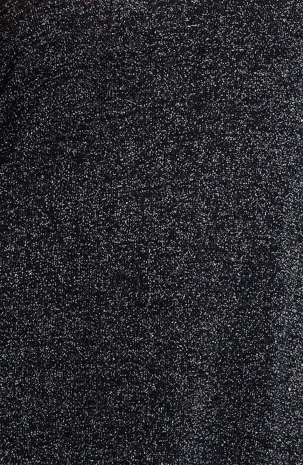Alternate Image 3  - Evans Metallic Knit Sweater (Plus Size)
